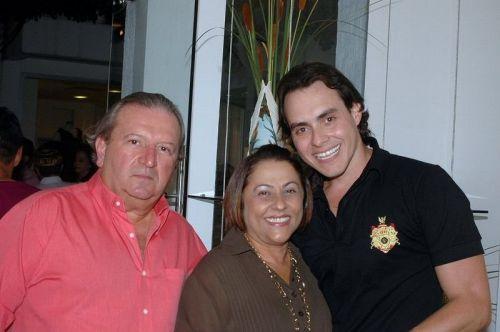 Fernando e Iracema Ramos com Campelo.