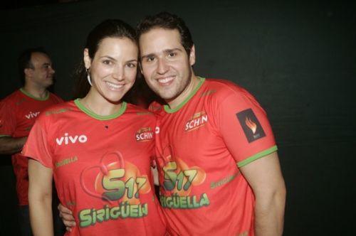 Carol Camargo e Marco Feitoza