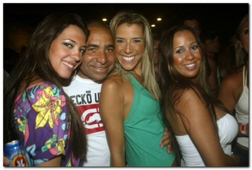 Nathalie Brigato, Boca, Tati Vilas Boas e Roberta Carvalho