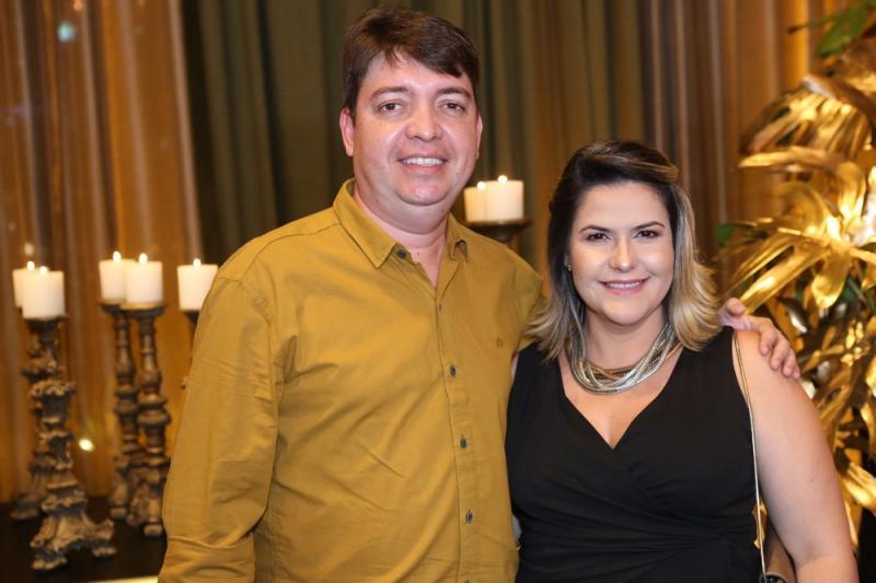 Alberto Nogueira e Manuella Saraiva
