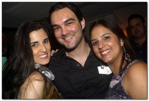 Olivia Pinto, Marcio Guimaraes e Renata Silveira