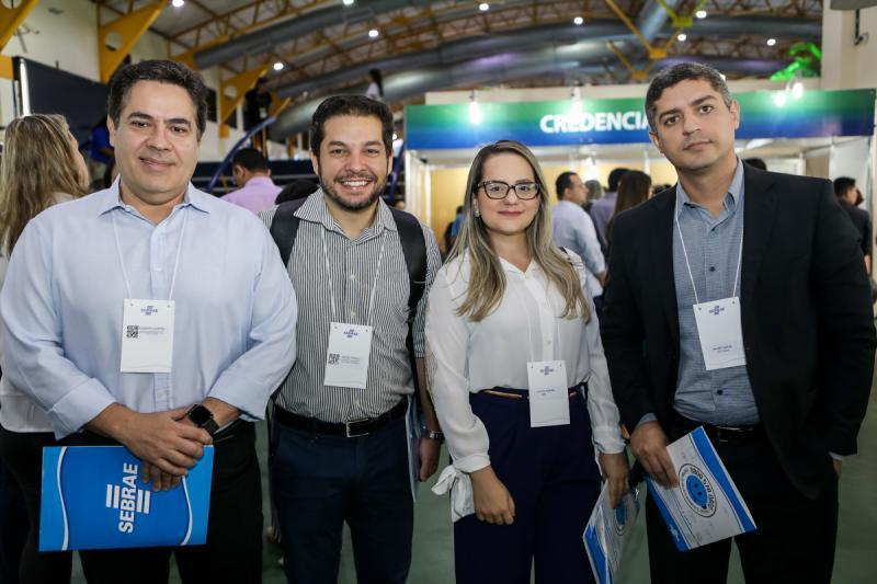 Roberto Castro, Celso Thomaz, Anneline Magalhaes e Bruno Gaspar