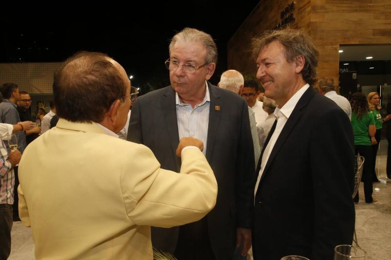 Marcos Montenegro, Ricardo Cavalcante e Mauricio Filizola