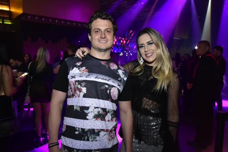 Tiago Leite e Ana Virginea Franca