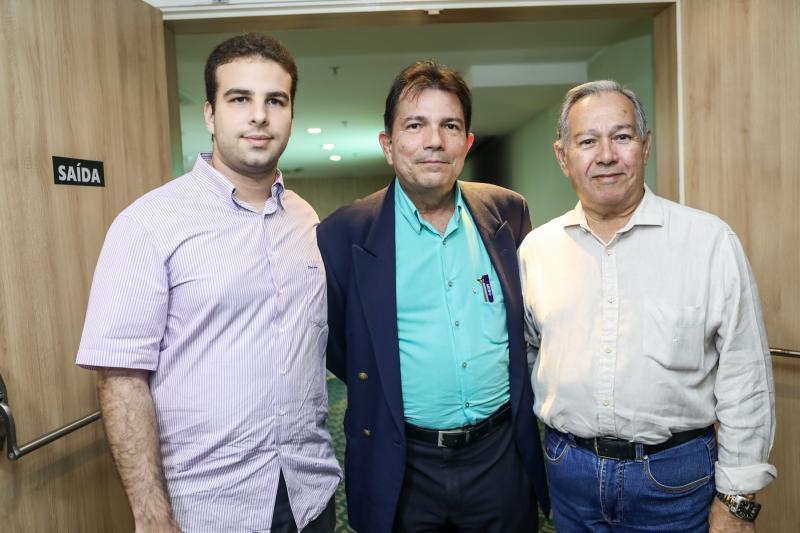 Paulo Salin, Fernando Castro Alves e Jaime Verçosa