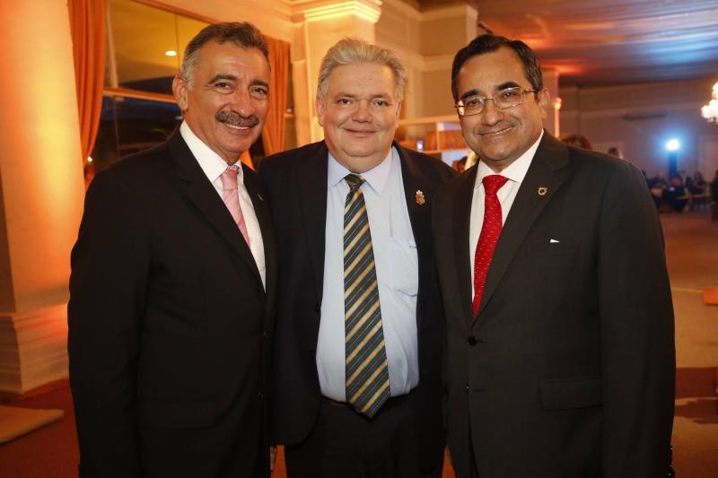 Artur Bruno, Pedro Jorge e Jardson Cruz