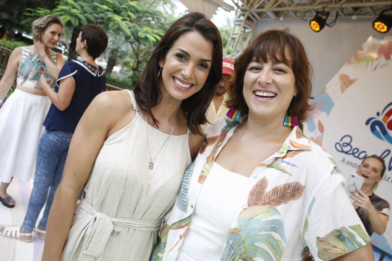 Ingrid Machado e Helen Ramos