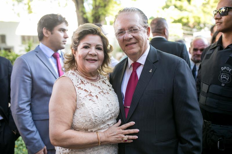 Marta Peixe e Jose Waldo Silva
