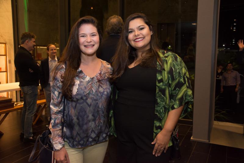 Aline Braide e Talita Maia