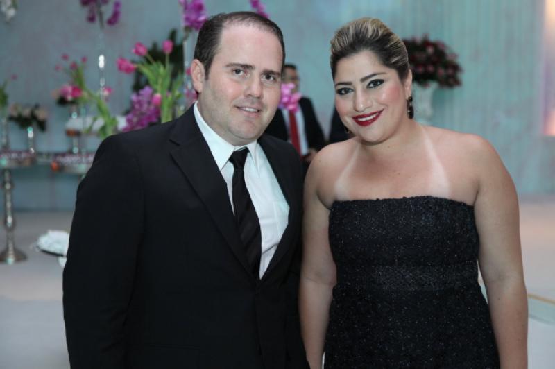 Roberto Pamplona e Manuela Romcy