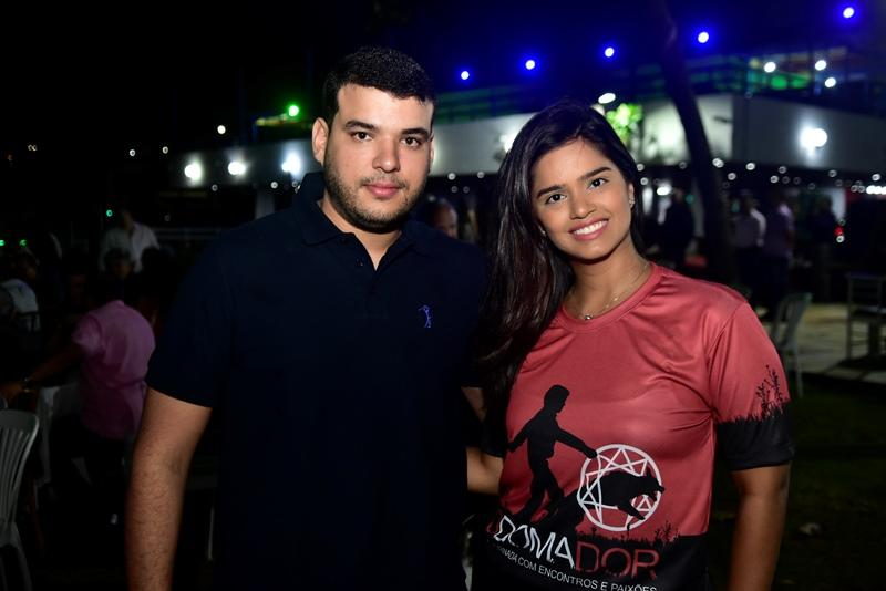 Luiz Diego e Juliana Martins