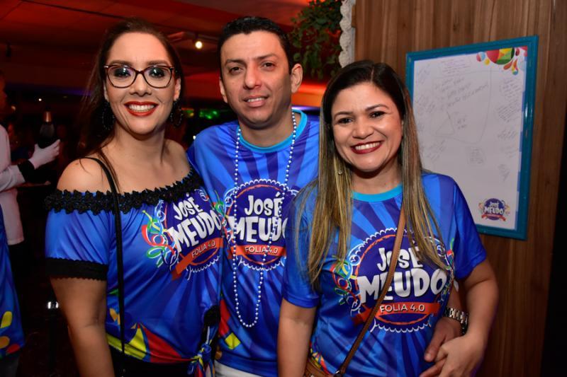 Marcele Celedonio, Alisson Dias e Roberta Leal