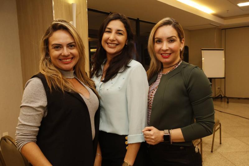 Monika Vieira, Elaine Ditomy e Ana Cristina Lima