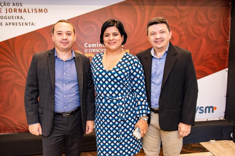 Marcos Mourao, Stephany Muniz e Marcio Mourao