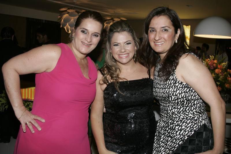 Lolo Moreira, Vanessa Queiros e Verucia Freire