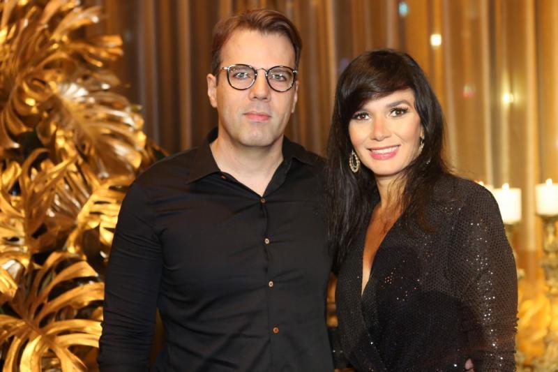 Andre Moura?o e Marcia Carvalho