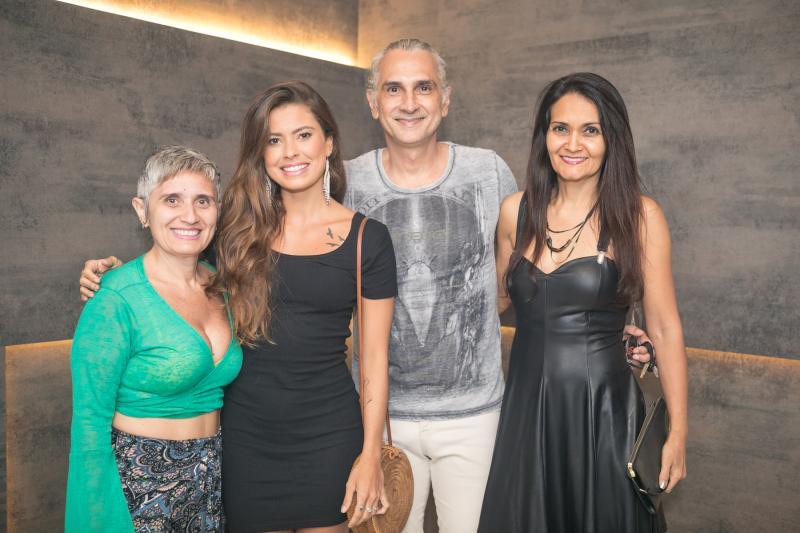 Lia Lima, Karla Rabelo, Joaquim Magalhaes e Debora Pamplona