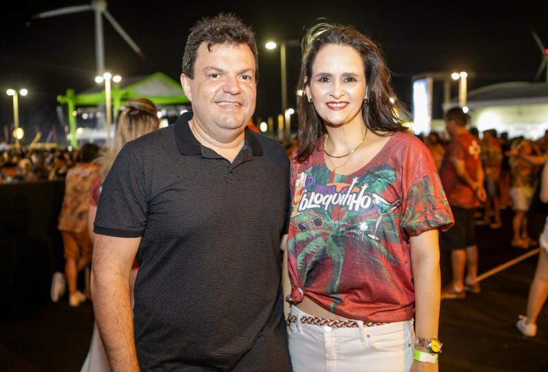Fernando Ferrer e Adriana Viana