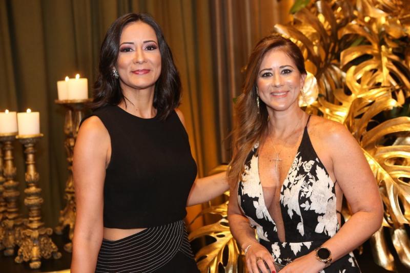 Elisa Pinto e Lia Coutinho