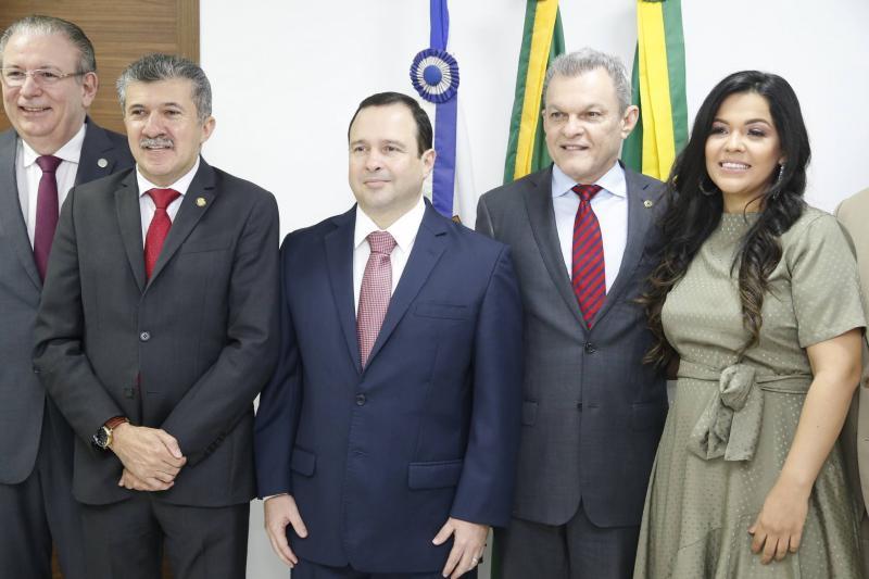 Ricardo Cavalcante, Antonio Henrique, Igor Barroso, Sarto, Priscila Costa e Elcio Batista