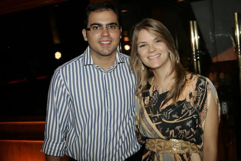 Leonardo Cavalcante e Keyla Castelo Branco
