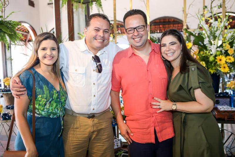 Karla e Paulo França, Daniel e Cristina Joca