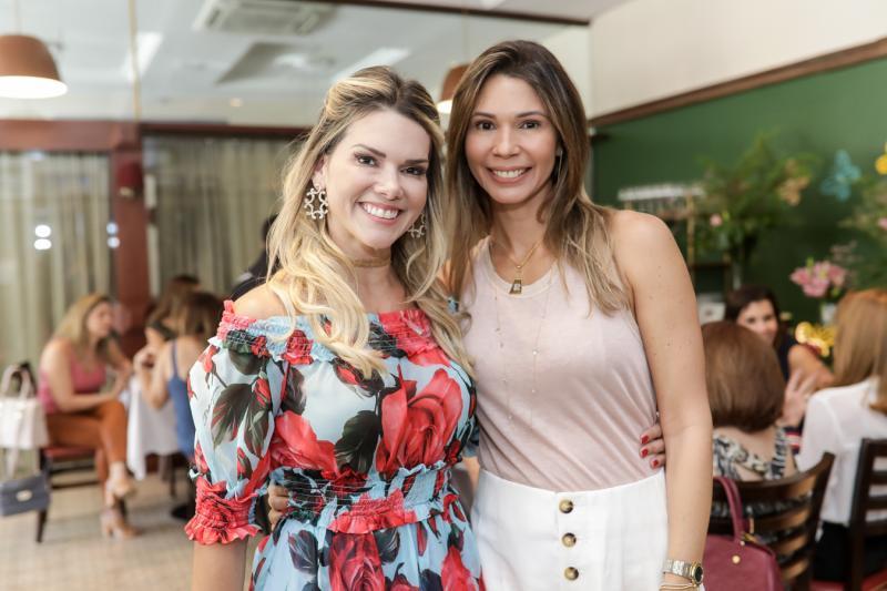 Pauliane Campos e Renata Pontes