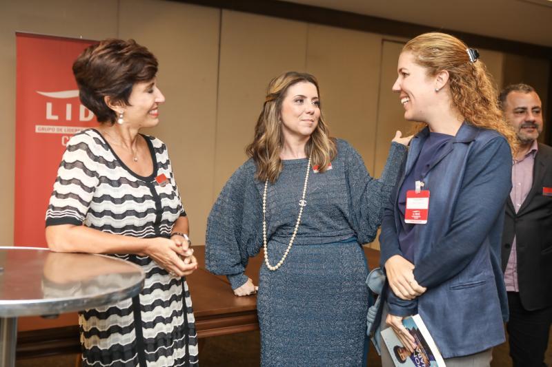 Silvia Bastos, Emilia Buarque e Ticiana Queiroz