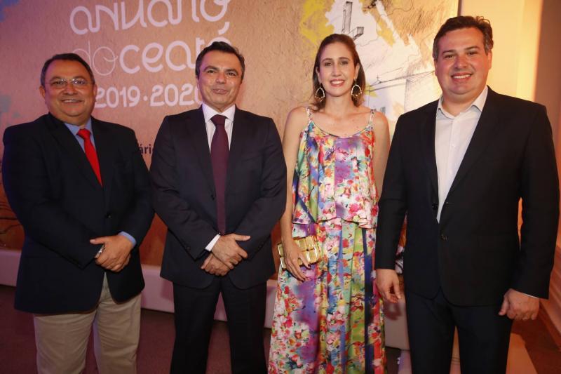 Moacir Maia, Juvencio Viana, Alessandra Romano e Samuel Dias