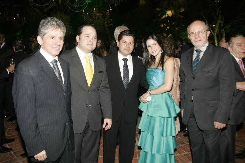 Padua Lopes, Otavio Queiroz, Pompeu e Marilia Vasconcelos e Capibaribe Neto