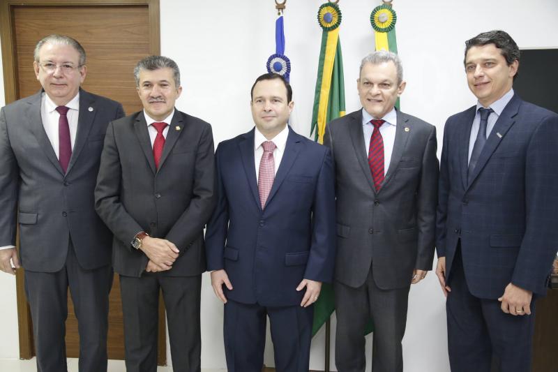 Ricardo Cavalcante, Antonio Henrique, Igor Barroso, Jose Sarto e Andre Siqueira