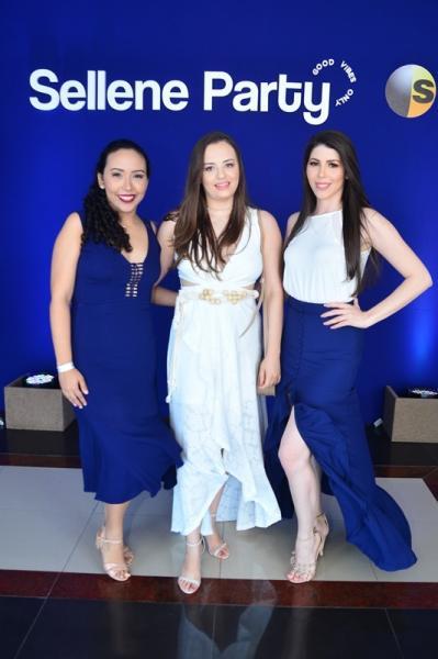 Isabelle Silva, Lorena Oliveira e Elyane Sa