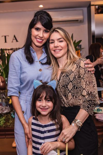 Flavia Laprovitera, Maria Cecilia Rolim e Monique Rolim