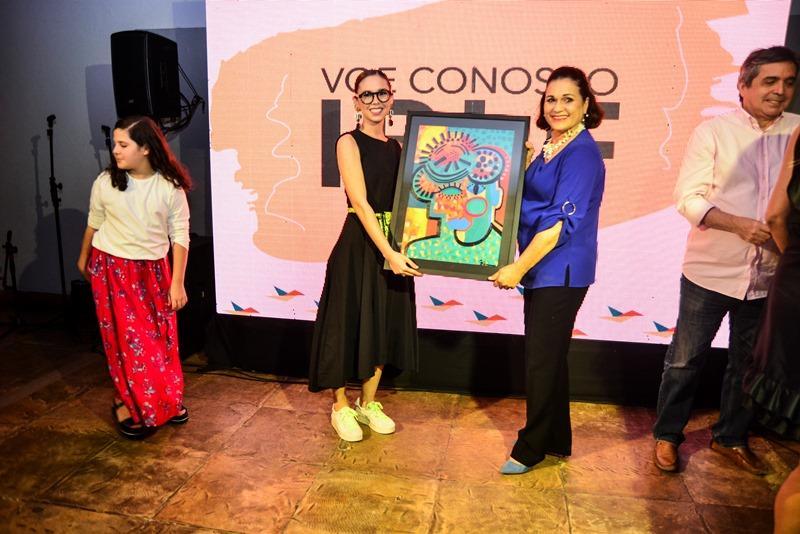 Beatriz Soares e Mirian Holanda