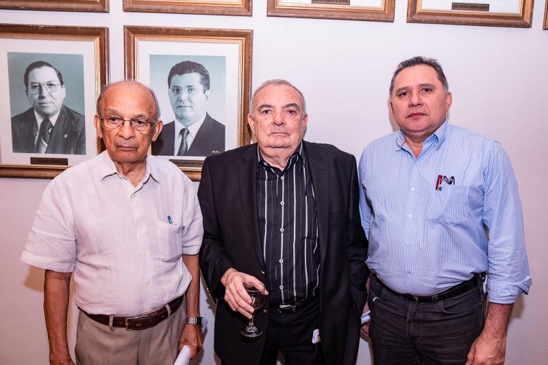 Ageu Monteiro, Julio Santiago e Expedido Junior