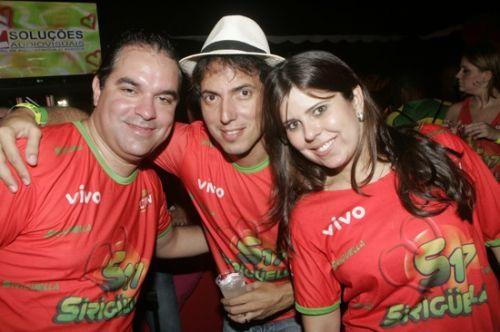Leo Albuquerque, Leo Alcantara e Marina Bastos