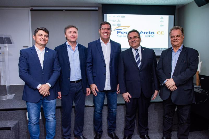 Eliezir Viterbino, Mauricio Filizola, Luiz Gastao Bittencourt, Romildo Rolim e Bernardo Peixoto