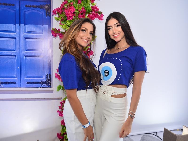 Livia Cabral e Marina Levi
