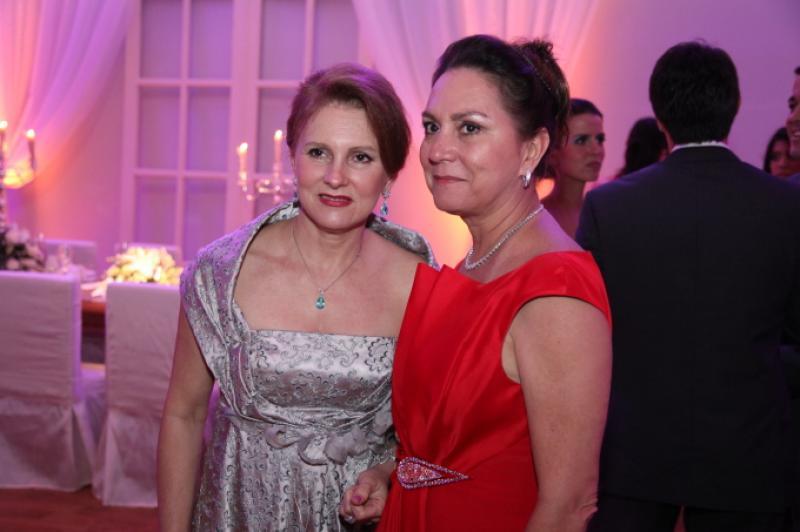 Renata Jereissati e Paula Frota