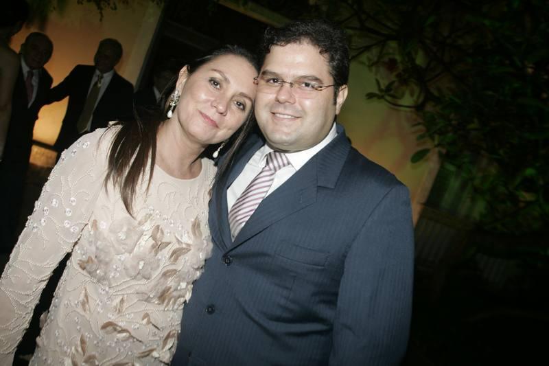 Paula Frota e Edson Queiroz Neto