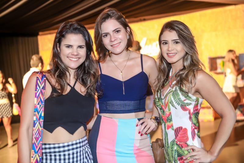 Paula Pinheiro, Glenda Studart e Natalia Nogueira