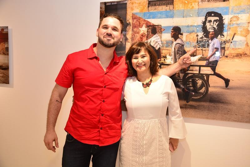 Guilherme Oliveira e Angela Pio