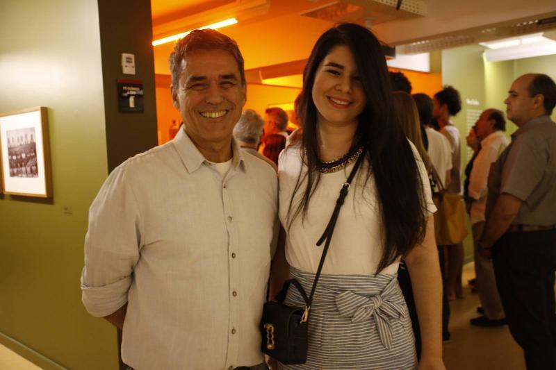 Pedro Ortale e Ana Filgueira