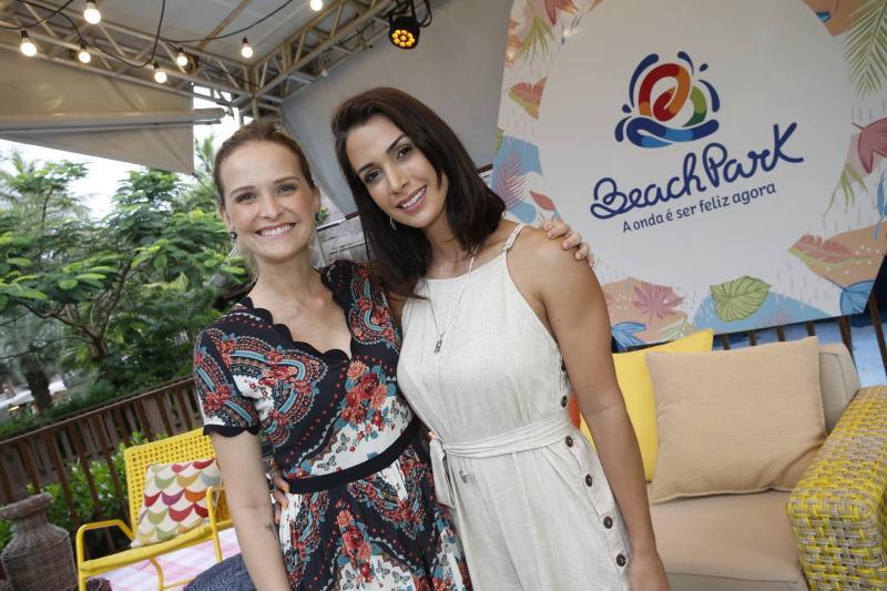 Fernanda Rodrigues e Ingrid Machado