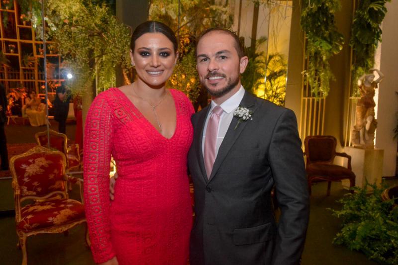 Marina Veras e Carlos Italo