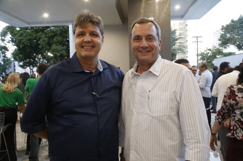 Marcos Oliveira e Kalil Otoch