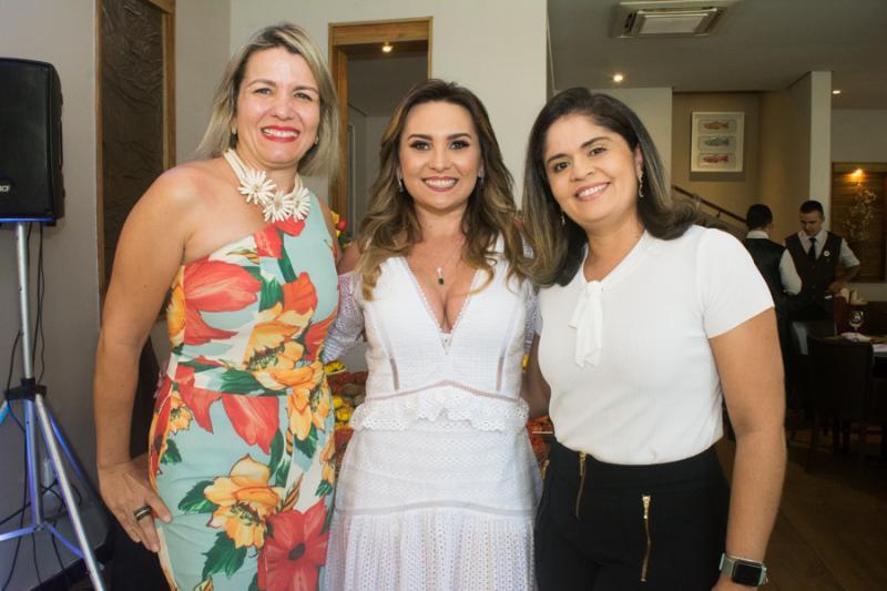 Claudia Sales, Socorro Medeiros e Debora Braga
