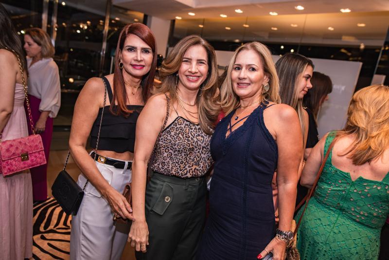 Lorena Pouchain, Karmilse Marinho e Marcia Teixeira