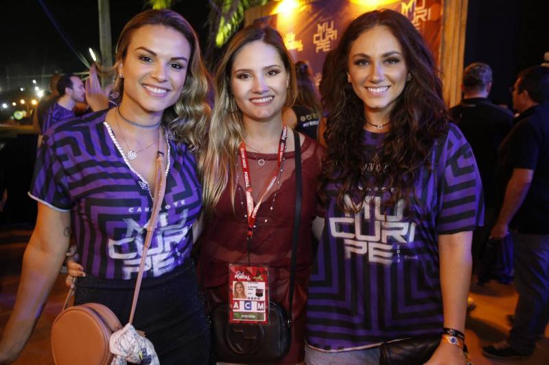 Raissa Soares, Leticia Teixeira e Kika Bichucher