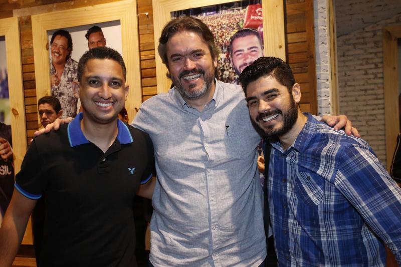 Laurinho Sobreira, Rodrigo Sousa e Rafael Ferreira